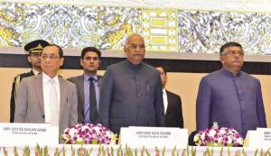 Ramnath Kovind and Ravi shankar prasad